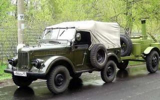ГАЗ-69А — легендарный советский джип!
