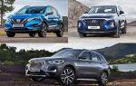 Выбор кроссовера до 2000000 рублей: Nissan Qashqai, Hyundai Santa Fe, BMW X1