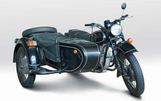 Тяжелый мотоцикл МТ-11 «Днепр»