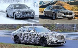 Автомобили S-класса: Mercedes-Benz S-Class, BMW 7-Series, Rolls-Royce Ghost