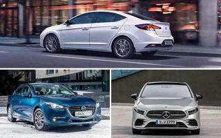 Выбираем седан C-класса: Hyundai Elantra, Mazda 3, Mercedes-Benz A-Class
