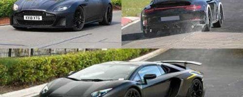 Суперкары 2019 года: Aston Martin, Porsche 911 Turbo, Lamborghini Aventador