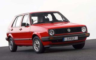 Обзор: ретро автомобиль Volkswagen Golf 2 1983 года