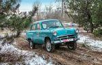 Ретро автомобиль Москвич 410