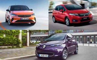 Малолитражки 2019 года: Opel Corsa, Honda Jazz, Renault Zoe