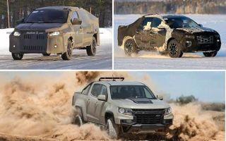 Пикапы 2020 года: Fiat Mobi Mini Truck, Hyundai santa Cruz, Chevrolet Colorado