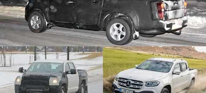 Пикапы 2020 года: Isuzu D-MAX, Toyota Tundra, Mercedes-Benz X-Class