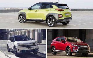 Компактные кроссоверы 2020 года: Hyundai Kona, Citroën C4 Aircross, Mitsubishi Eclips Cross