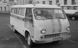 Ретро обзор: РАФ-977 – первый советский микроавтобус!