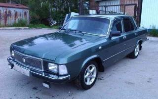 Седан ГАЗ-3102 Волга — комфортный советский автомобиль!