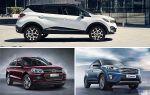 Выбор кроссовера до 1000000 рублей: Renault Kaptur, Zotye T600, Hyundai Creta