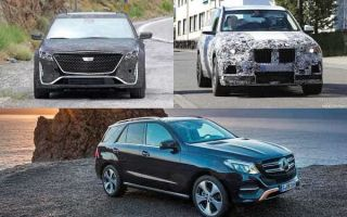 Среднеразмерные люксовые кроссоверы 2019 года: Cadillac XT6, BMW X5, Mercedes-Benz GLE