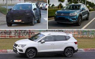 Среднеразмерные кроссоверы 2020 года: Hyundai Tucson, Volkswagen Tharu, Seat Ateca