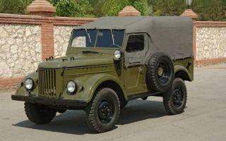 Ретро обзор: ГАЗ-69 1968 года – настоящий народный внедорожник!