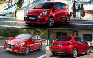Малолитражки 2020 года: Opel Corsa, Hyundai i10, Peugeot 208