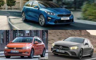 Хэтчбеки С-класса: Kia Ceed, Volkswagen Polo, Mercedes-Benz A200