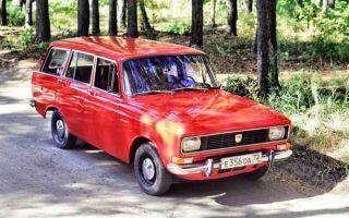 Москвич 2137 – последний заднеприводный универсал «АЗЛК»