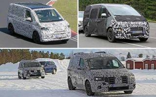 Минивэны 2021 года: Volkswagen Transporter, Hyundai H1, Mercedes-Benz Citan