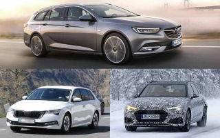 Универсалы 2019 года: Opel Insignia, Skoda Octavia, Audi A4
