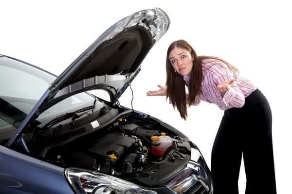 Двигатель вышел из строя