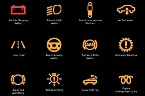 Индикаторы приборной панели. Значение иконок