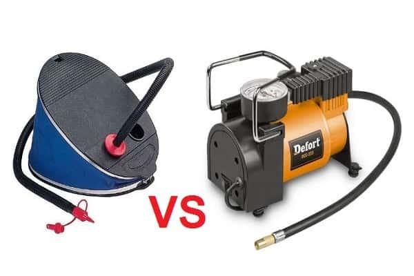 Что выбрать: насос или компрессор