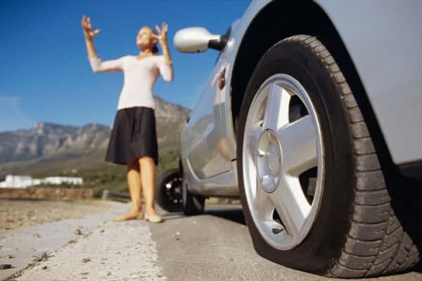 Двойной прокол колеса: советы по устранению прокола