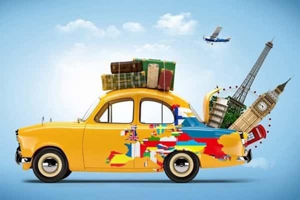 На машине за границу