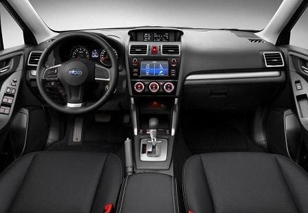 Салон Subaru Forester 2016 года