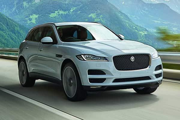 Jaguar F-Pace 2016 года