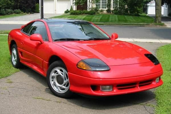 Ретро автомобиль Dodge Stealth 1993 года