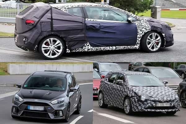 Хэтчбеки 2017 года: Kia Ceed, Toyota Auris, Ford Focus