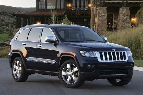 Jeep Grand Cherokee 2012 года