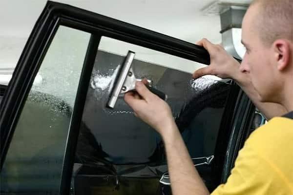 Тонировка стекол своими руками