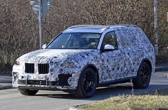 Эксперементальный BMW X7 2018 года