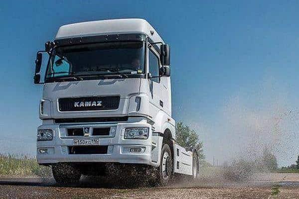 Беспилотные грузовики в России