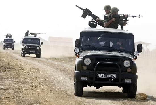 Армейский внедорожник УАЗ-469