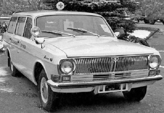 ГАЗ-24 Волга скорая помощь