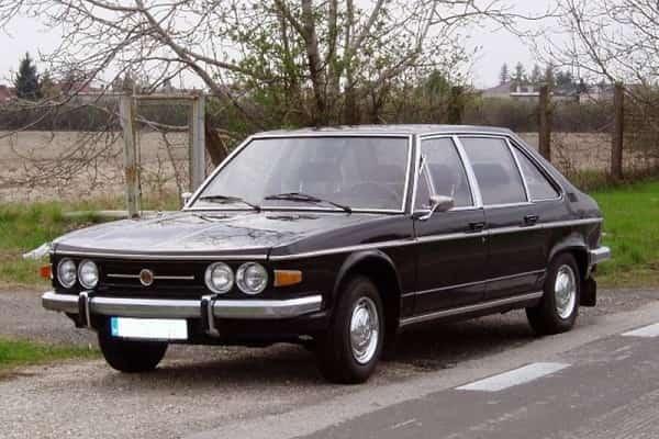 Представительский седан Tatra 613
