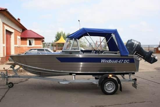 Легковой авторицеп для лодки