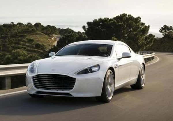 Aston Martin RapidE Electric Car