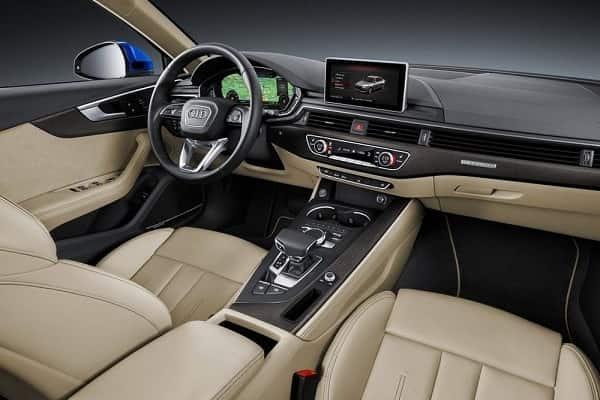 Салон Audi A4 Sedan 2017 года