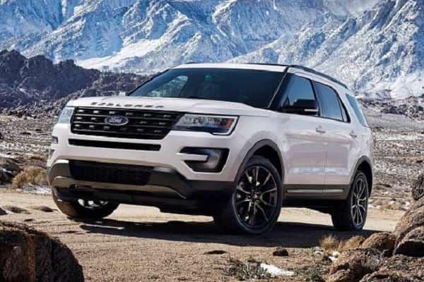 Ford Explorer 2022 года