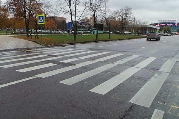 Нерегулируемые пешеходные переходы