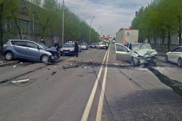Аварии на встречной полосе