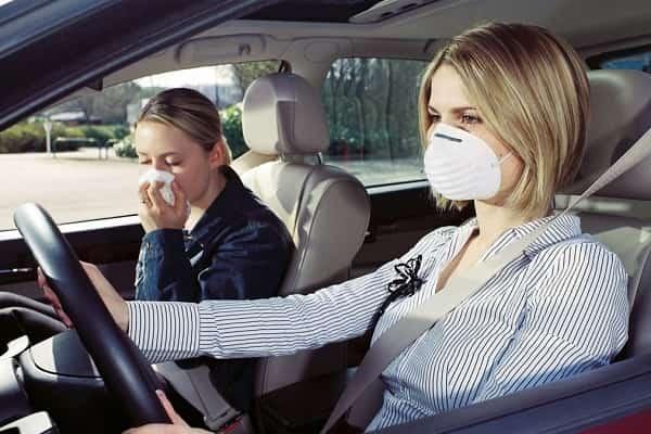 Запах в салоне автомобиля