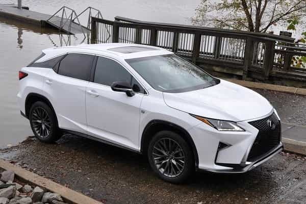 Lexus RX-L 2018 года