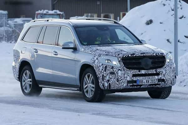 Mercedes-Benz GLS 2018 года