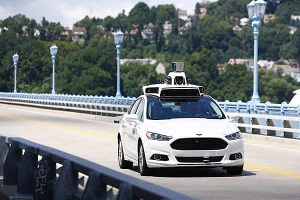Беспилотный автомобиль в США