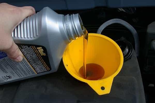 Большой расход масла в двигателе